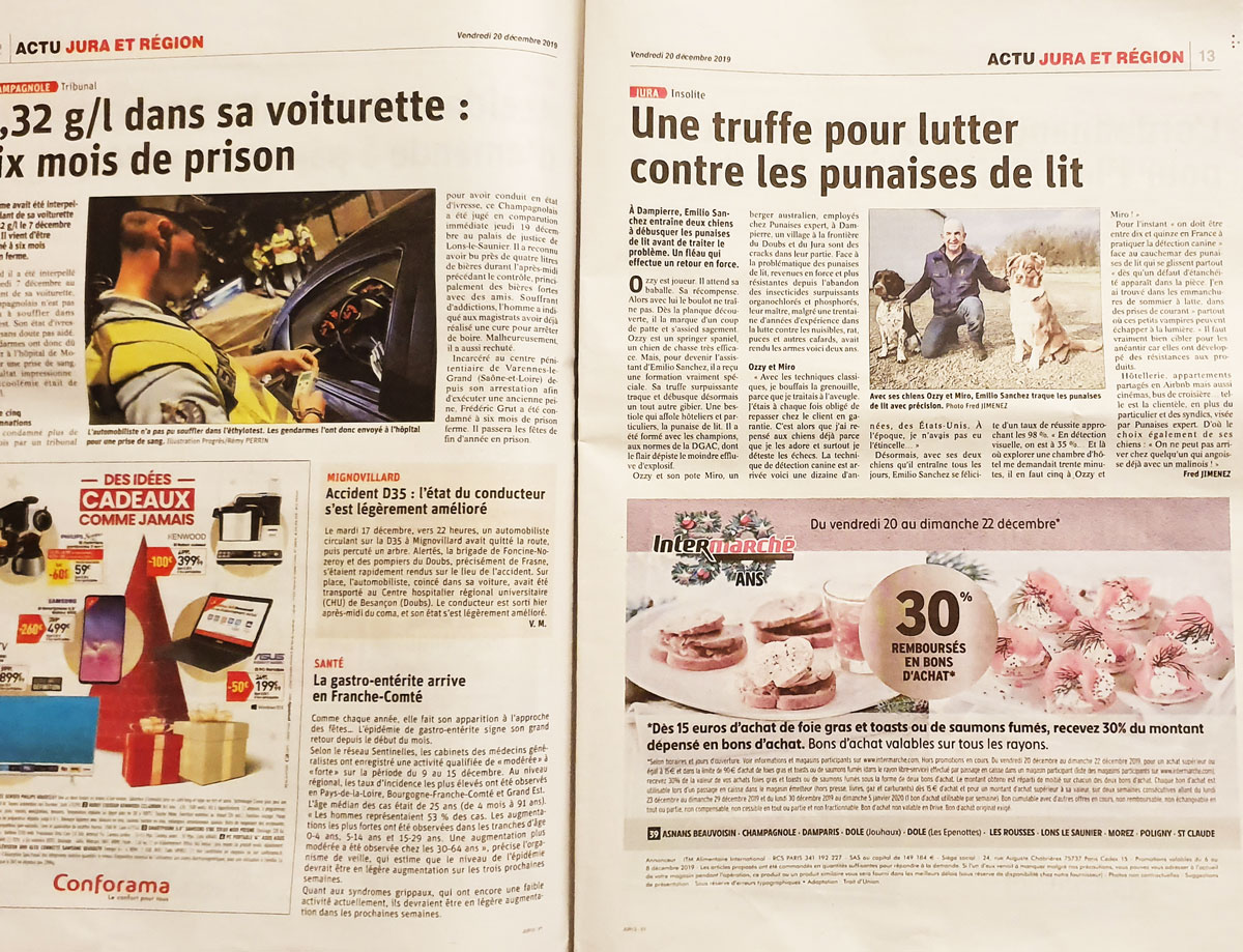 double page presse